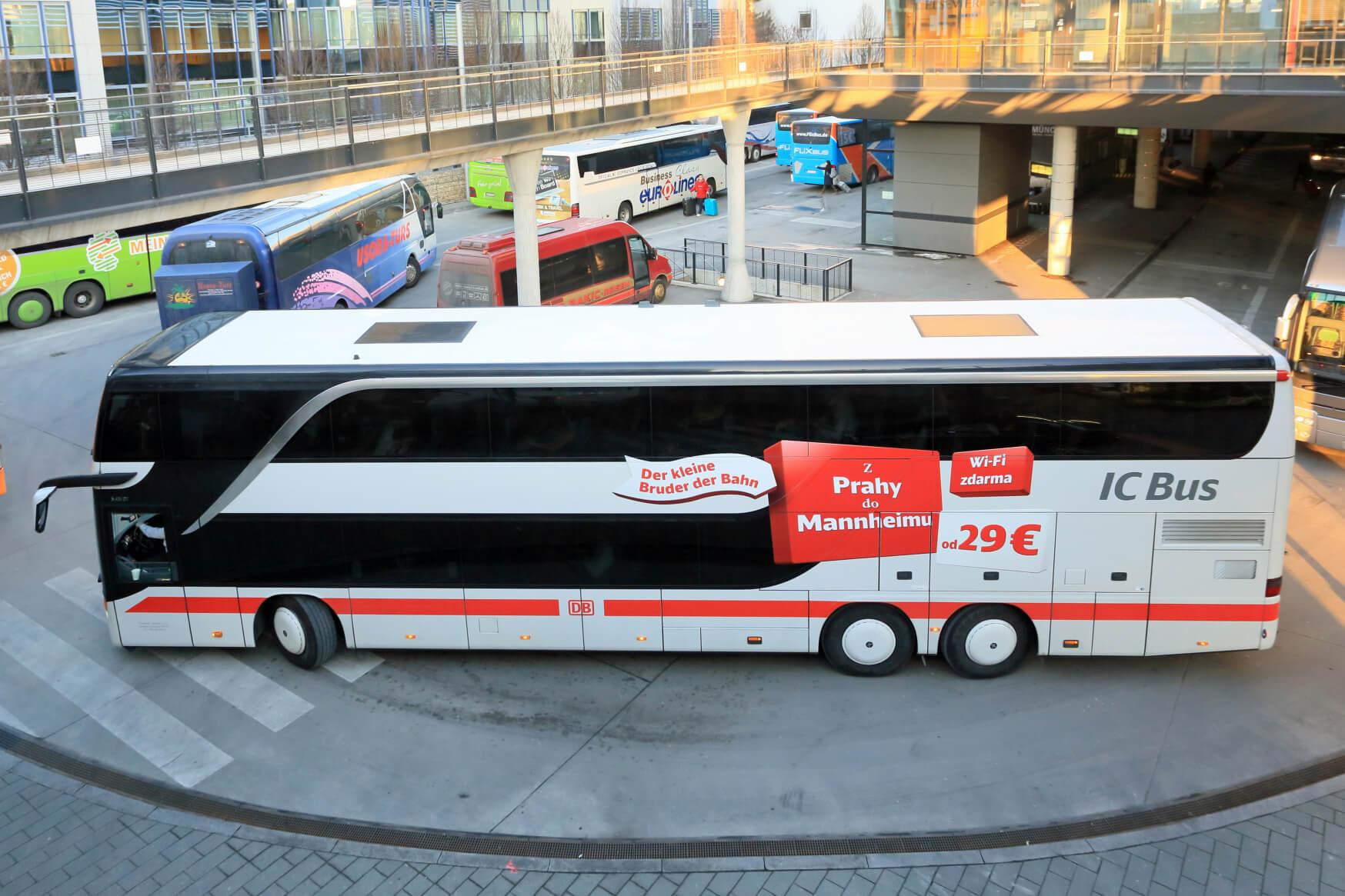IC Bus Fernstrecke